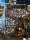 Świecznika sklepu sklep Sishane Istanbuł obrazy royalty free