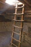 Świerkowy Drzewny dom, mesa Verde, Kolorado, usa obraz stock