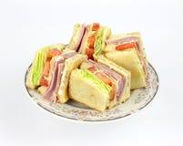 świetlicowa kąt kanapka Obraz Stock