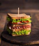 Świetlicowa kanapka obrazy royalty free