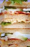 świetlicowe kanapki Zdjęcia Stock