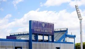 Świetlicowy Atlético Vélez Sarsfield stadium w Liniers Buenos Aires Argentyna obraz stock