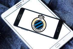 Świetlicowy Brugge futbolu klubu logo obraz stock