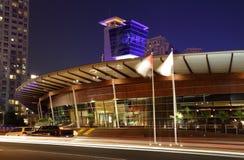 świetlicowy Dubai marina jacht Zdjęcia Royalty Free