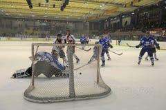 świetlicowy hokejowy Milano zdjęcia stock