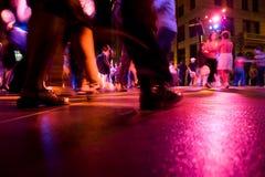świetlicowy taniec fotografia royalty free