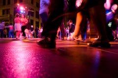 świetlicowy taniec zdjęcie royalty free