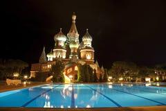 świetlicowy wakacyjny Kremlin Fotografia Royalty Free
