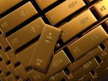 świetni złociści bary Zdjęcia Stock