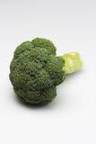 Świezi brokuły na a nad białym tłem fotografia royalty free