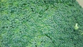 Świezi brokuły w górę tła, obrazy stock