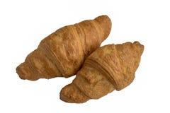 Świezi croissants fotografia stock
