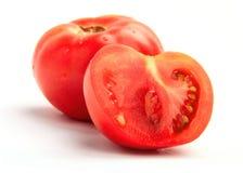 świezi dojrzali pomidory Obrazy Stock