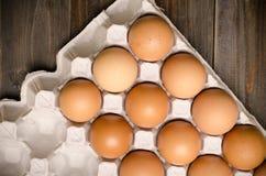 Świezi jajka Fotografia Stock