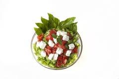 świezi mieszani sałatkowi warzywa Obrazy Stock
