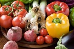 świezi organicznie warzywa obraz royalty free