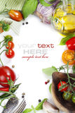 świezi organicznie warzywa Obraz Stock