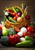Świezi, organicznie warzywa, obrazy stock