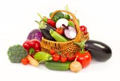 Świezi, organicznie warzywa, fotografia stock