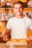 Świezi piec ciastka dla ciebie Obraz Royalty Free