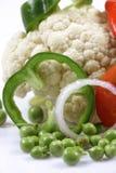 świezi sałatkowi warzywa zdjęcie royalty free