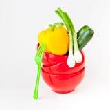 Świezi warzywa dla gotować. obrazy royalty free