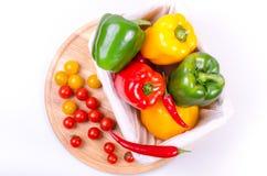 Świezi warzywa, jesieni tło Zdjęcie Royalty Free