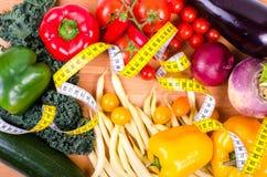 Świezi warzywa, jesieni tło pojęcie diety Obrazy Royalty Free