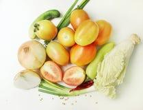 Świezi warzywa mieszający wpólnie Zdjęcie Stock