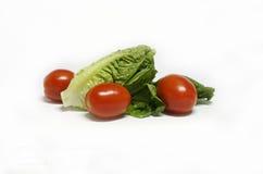 Świezi warzywa na białym tle Obraz Stock