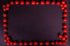 Świezi warzywa na czarnym stole jesienią zbliżenie kolor tła ivy pomarańczową czerwień liści Obrazy Royalty Free