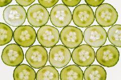 Świezi warzywa pokrajać abstrakcjonistycznego bezszwowego deseniowego tło, cu Zdjęcie Royalty Free