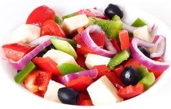 Świezi warzywa sałatkowi. Obraz Stock