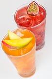 Świezi zimno napoje zdjęcie royalty free