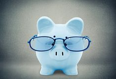 Świnia, podatek, Pieniężny Advisor Zdjęcie Stock