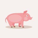 świnia również zwrócić corel ilustracji wektora Obraz Royalty Free