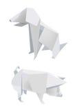 świnia z psami ilustracji