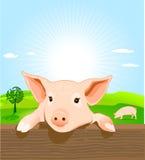 świniowaci potomstwa royalty ilustracja