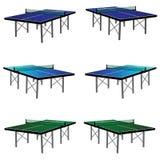 Śwista pong stół w trzy kolorze Obraz Royalty Free