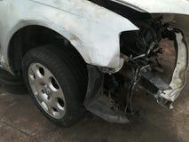 Świstek pojazdy mechaniczni, samochodu złomowy jard zdjęcia stock