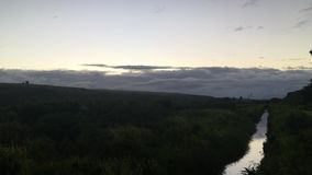 Świt nad Waimea jar - widok od Kekaha na Kauai wyspie, Hawaje zdjęcie wideo
