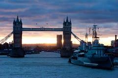 Świt w Londyn zdjęcia royalty free