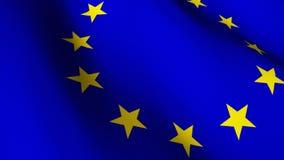 欧盟国旗 影视素材图片