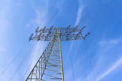 źródła energii elektrycznej budowy przemysłowej pracy Obraz Stock