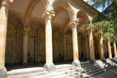 Źródło gorąca woda mineralna Kurort Jermuk, Armenia obraz royalty free
