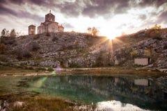 Źródło rzeczny Cetina obraz royalty free