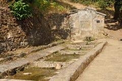 Źródło Villardeciervos, losu angeles Culebra góra, Zamora prowincja, obraz royalty free