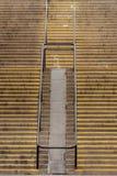 Żółci abstraktów kroki zdjęcia stock