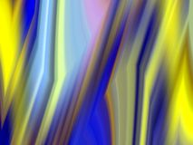 Żółci błękitów cienie, geometrie, wykładają tło, abstrakcjonistyczne kolorowe geometrie ilustracji