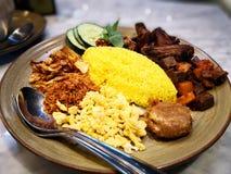 Żółci ryż Zdjęcie Stock